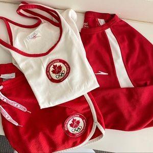Team Canada Olympics 3-Piece Uniform Set in XS